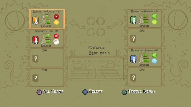 The Behemoth Blog Castle Crashers PS3 Update!! on
