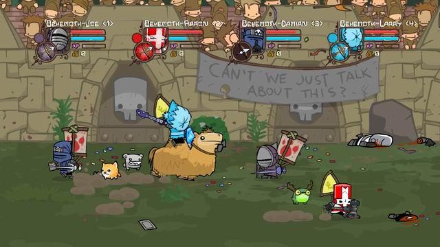The Behemoth Blog Castle Crashers teams up on Arena