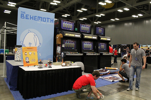 Our first RTX booth in 2013