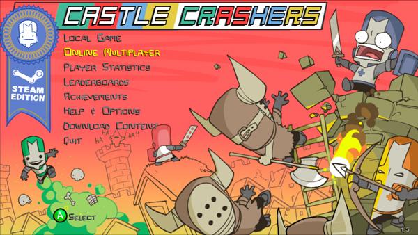 The Behemoth Blog Castle Crashers…STEAM Version!