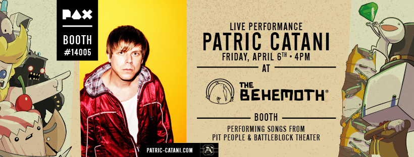 The Behemoth Blog Patric Catani Live Performance at PAX East