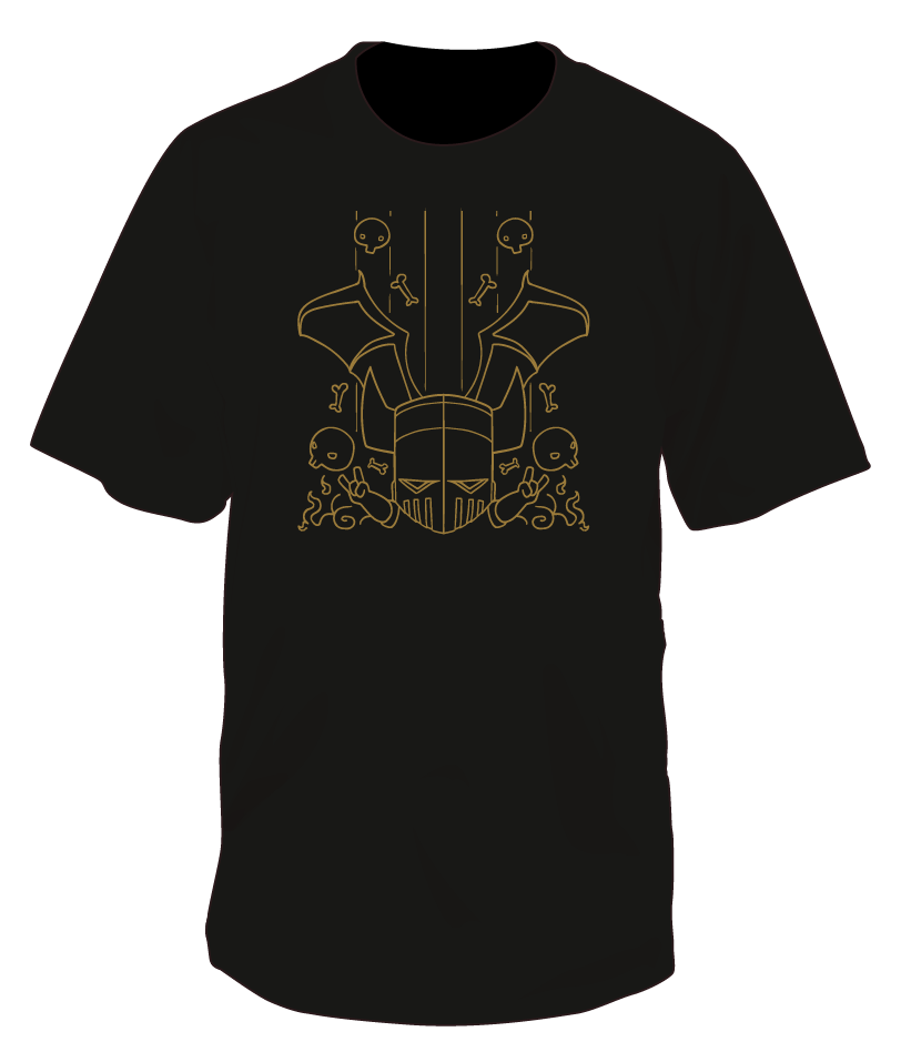Necromancer Rock n' Bones T-shirt