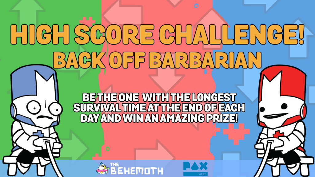 Back Off Barbarian High Score Challenge