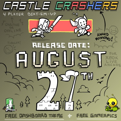 Castle Crashers site update + Epic music countdown | NeoGAF