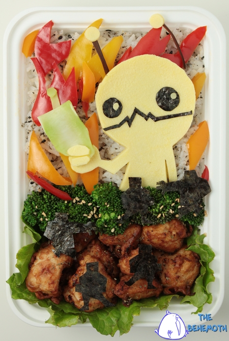 Anna The Red's Alien Hominid Bento