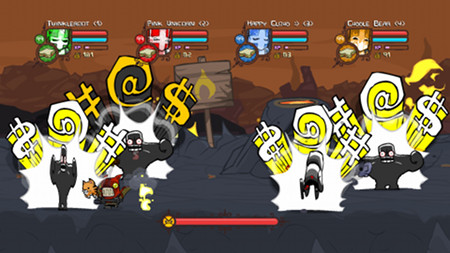 Let's get pumped for castle crashers steam edition