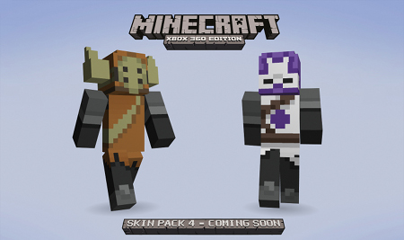 Minecraft's Skin Pack 4 Will
