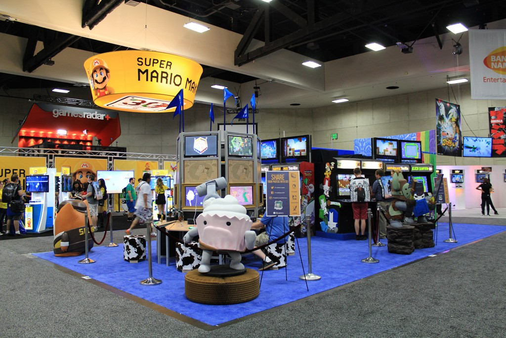 Our booth from SDCC 2015