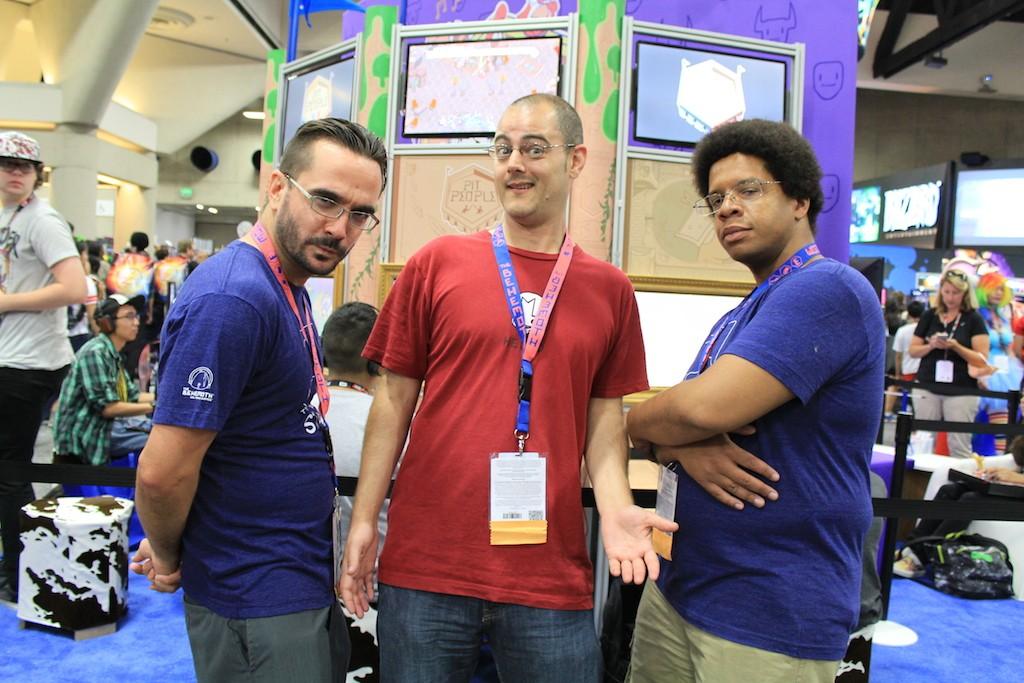 From left to right: Mason, John, Larry