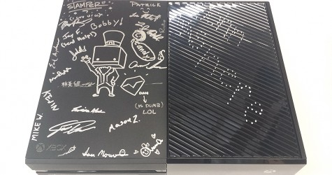 New Xbox One signed by our dev team