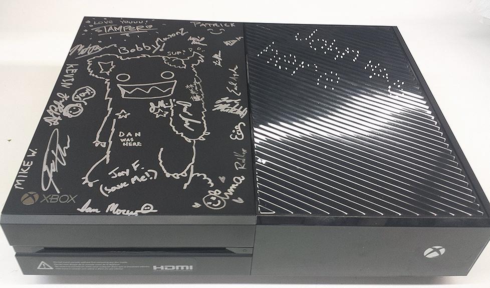 AutographedX1-Spacebear